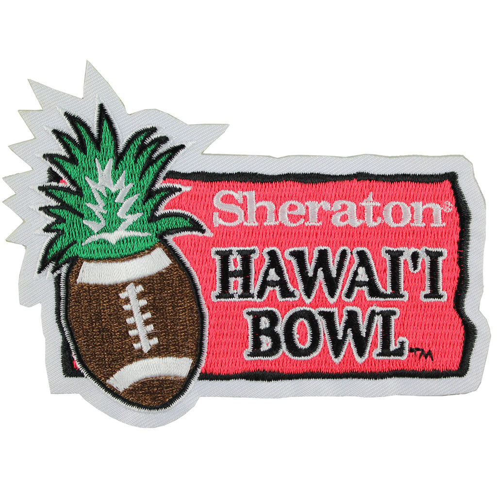 Sheraton Hawaii Bowl Game Jersey Patch (2013 Boise State vs. Oregon State)