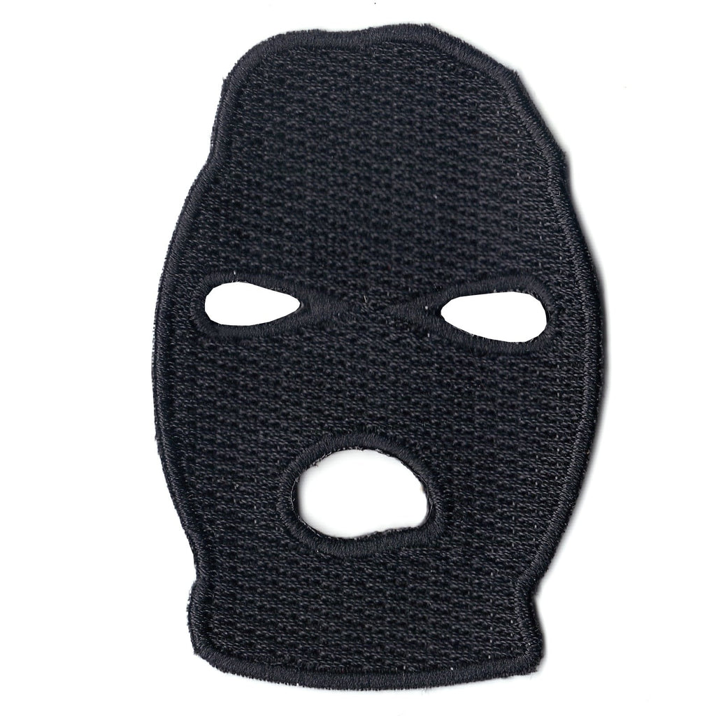 Ski Mask Iron On Patch