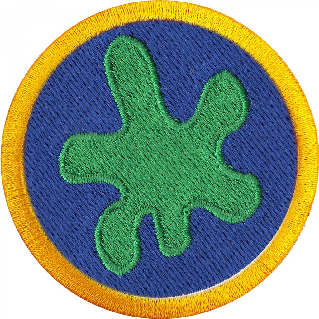 Slime Chemistry Wilderness Scout Merit Badge Iron on Patch