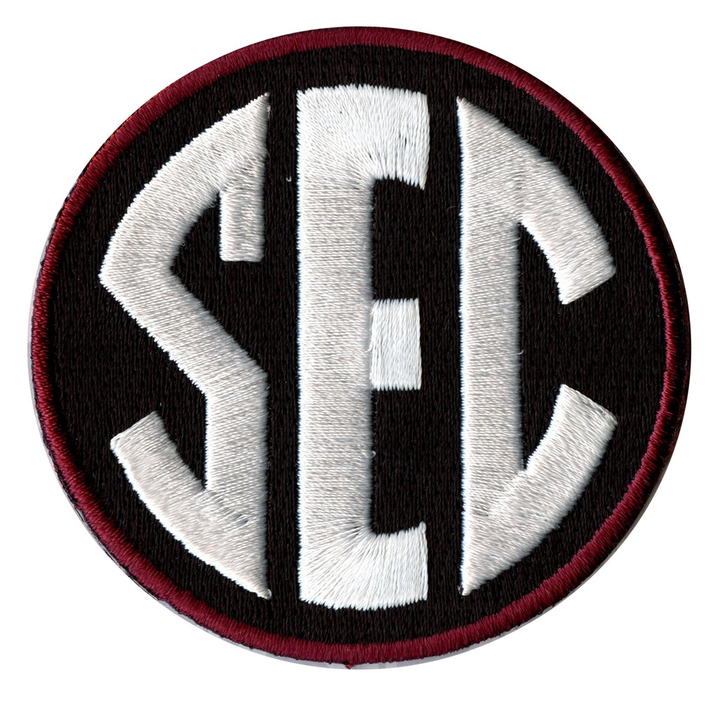 SEC Conference Team Jersey Uniform Patch South Carolina Gamecocks