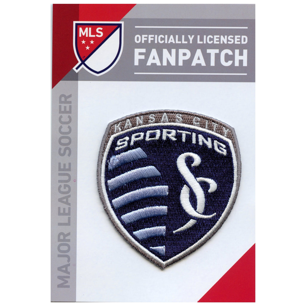 Kansas City Sporting  Primary Team Crest Embroidered Jersey Patch