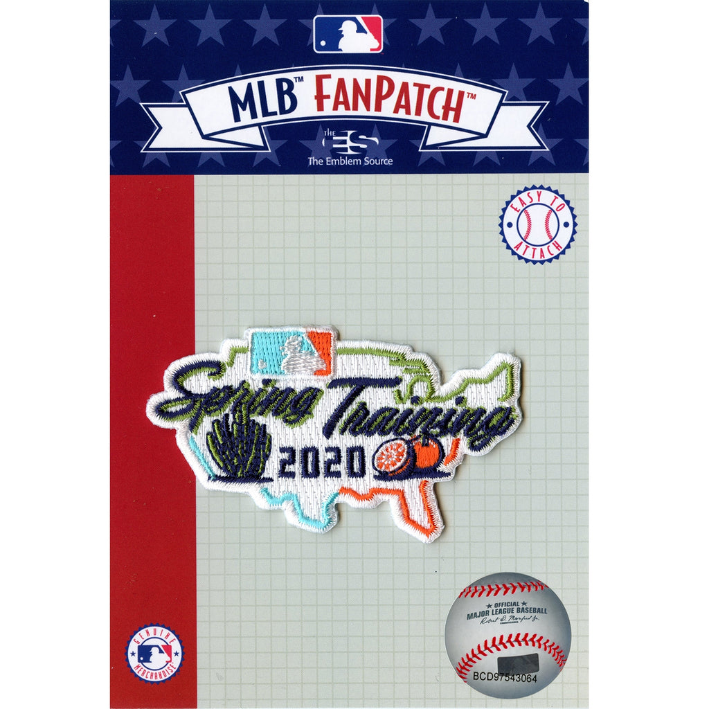 2020 MLB Spring Training Jersey Patch