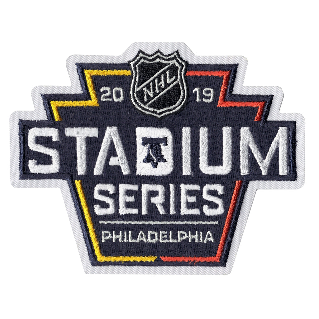 2019 Official NHL Stadium Series Game Jersey Patch (Philadelphia Flyers vs. Pittsburgh Penguins)