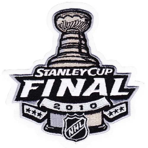 2010 NHL Stanley Cup Final Patch Chicago Blackhawks vs. Philadelphia Flyers