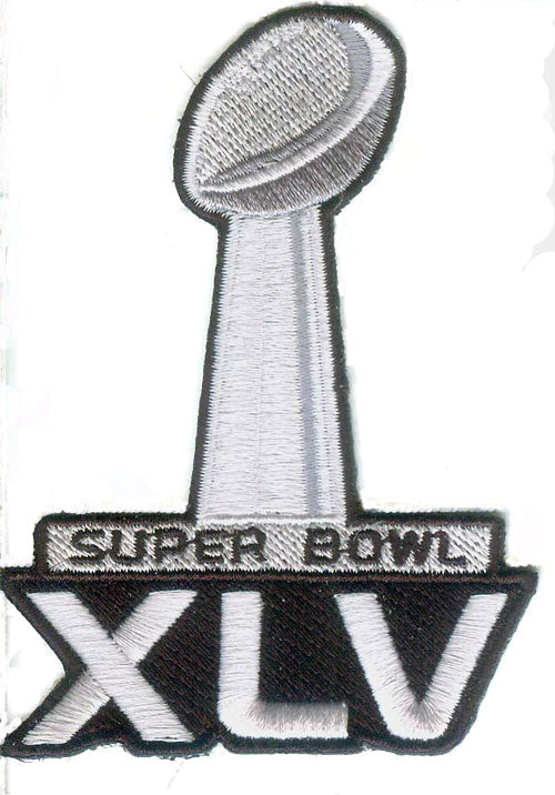 Super Bowl 45 XLV Logo Patch (2011)