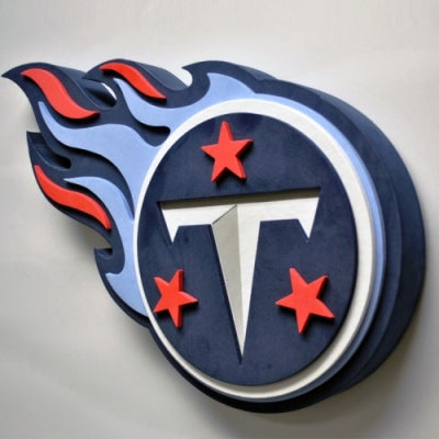 Tennessee Titans Foam Sign