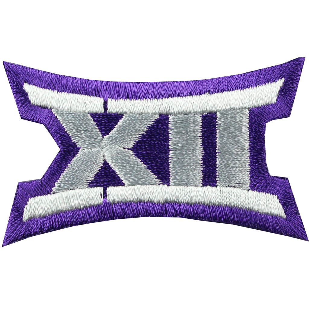Big 12 XII Conference Team Jersey Uniform Patch TCU Horned Frogs