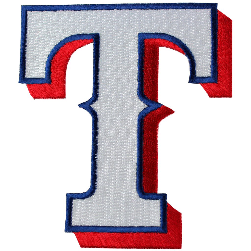 "Texas Rangers ""T"" Hat Team Logo Patch"
