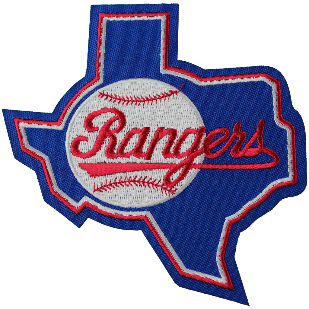Texas Rangers Throwback Primary Team Logo Patch (1984-1993)