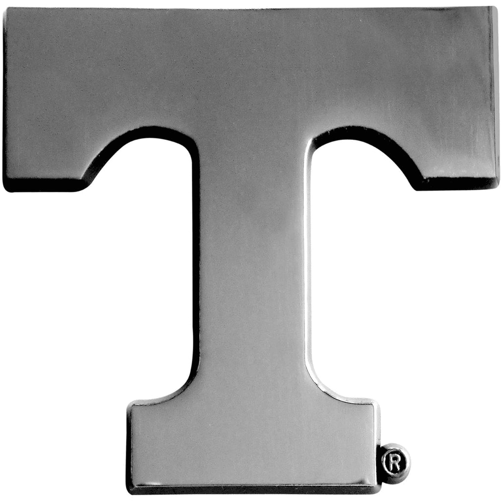 Tennessee Volunteers Premium Solid Metal Chrome Plated Car Auto Emblem