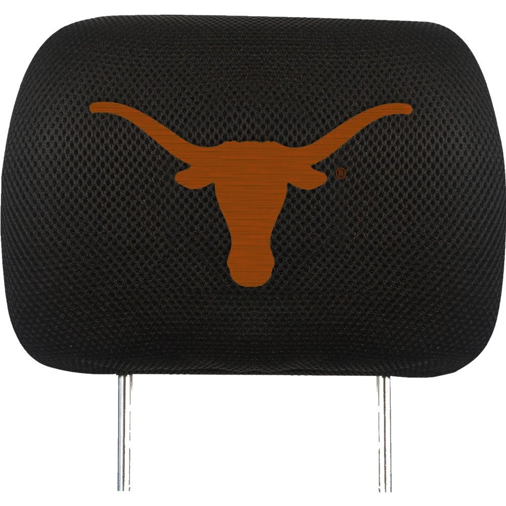 University of Texas Longhorns Auto Head Rest Seat Covers 2-Piece