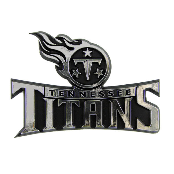 Tennessee Titans Car 3D Chrome Auto Emblem