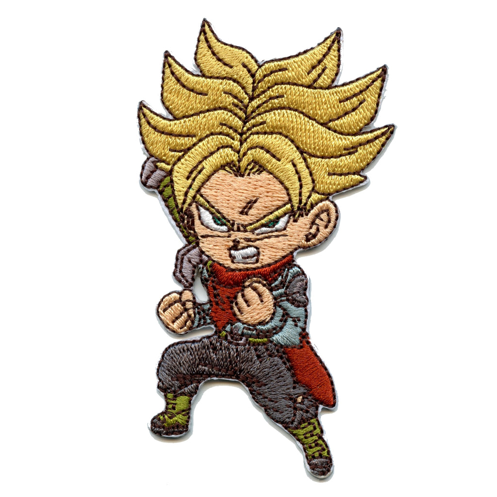 Dragon Ball Z Future Trunks Character Anime Embroidered Patch