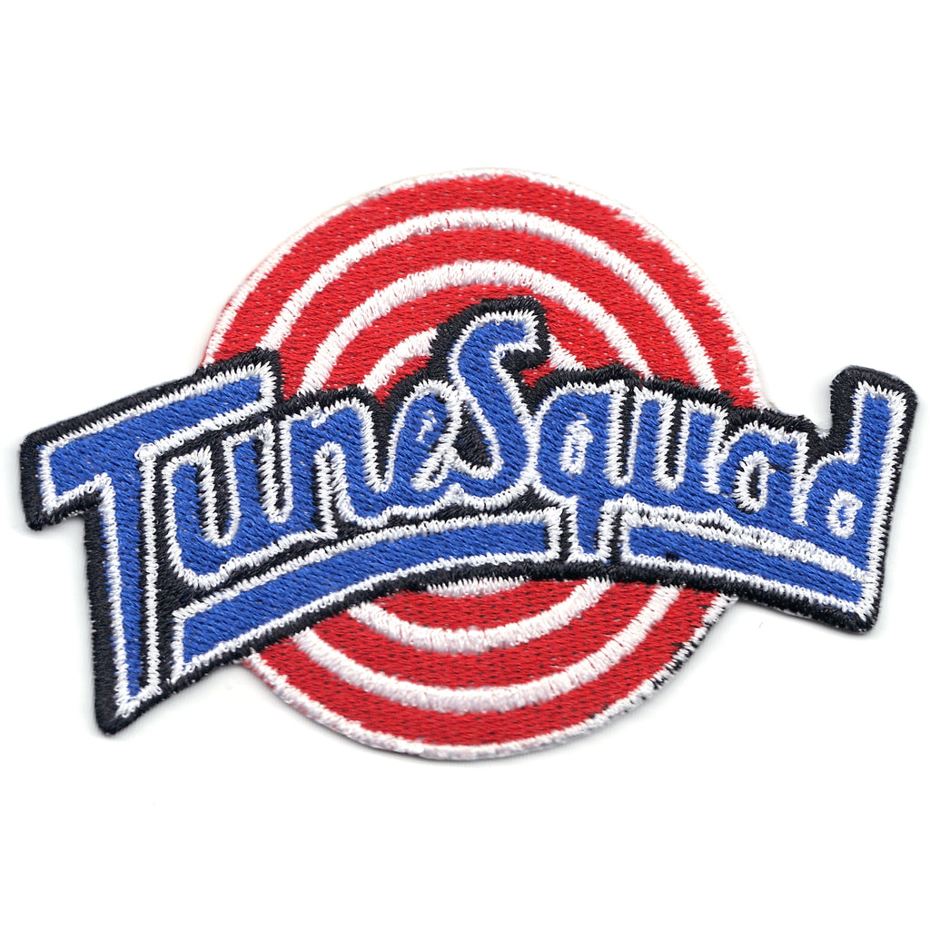 Tune Squad Basketball Team Logo Iron On Patch
