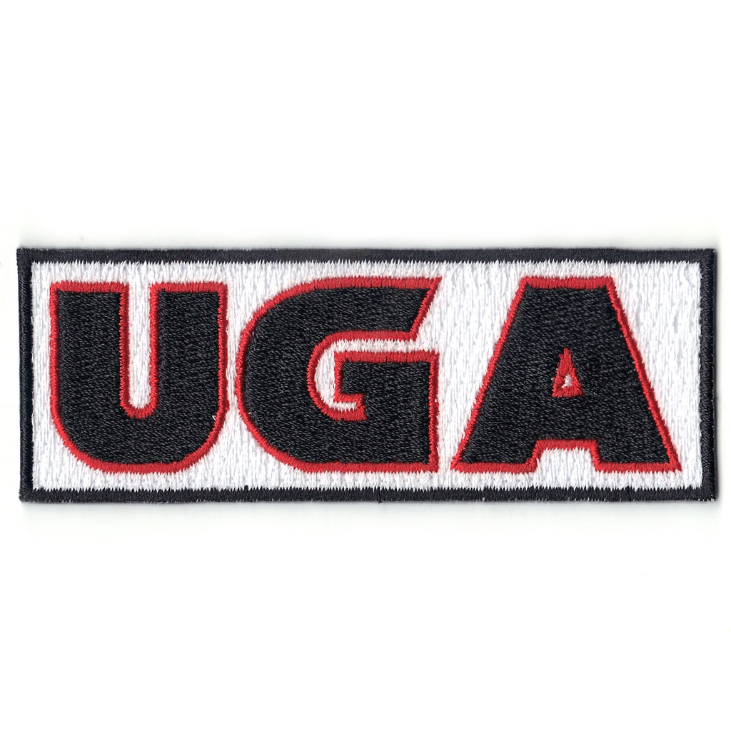 UGA Iron On Patch