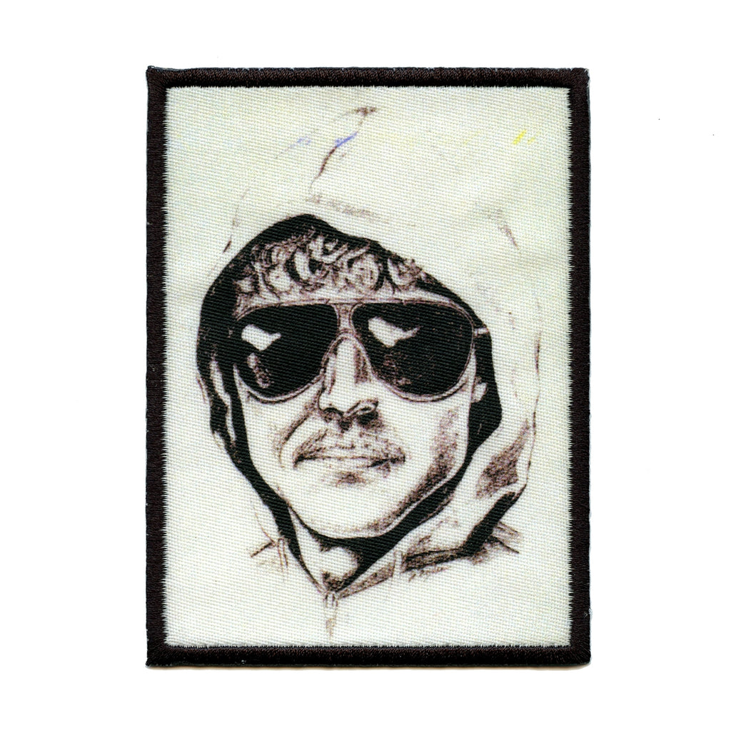 Uni Bomber Police Sketch Embroidered Iron On Foto Patch