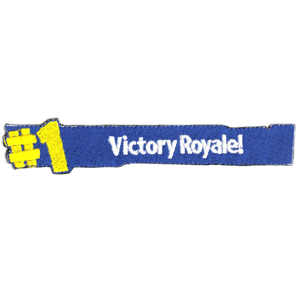 Shooting Battle #1 Victory Royal Winner Logo Iron On Patch