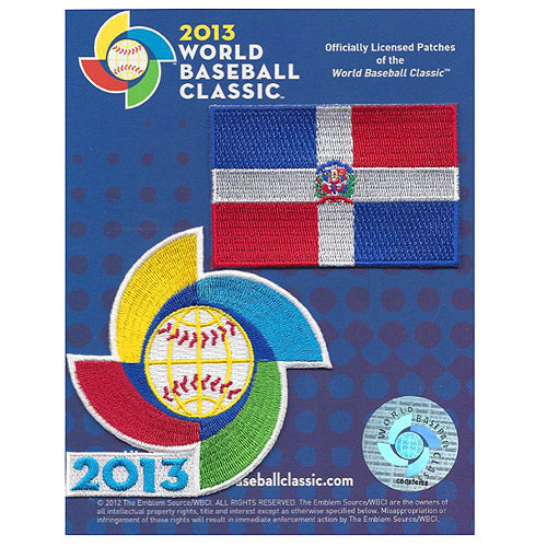 Dominican Republic 2013 World Baseball Classic Patch Pack