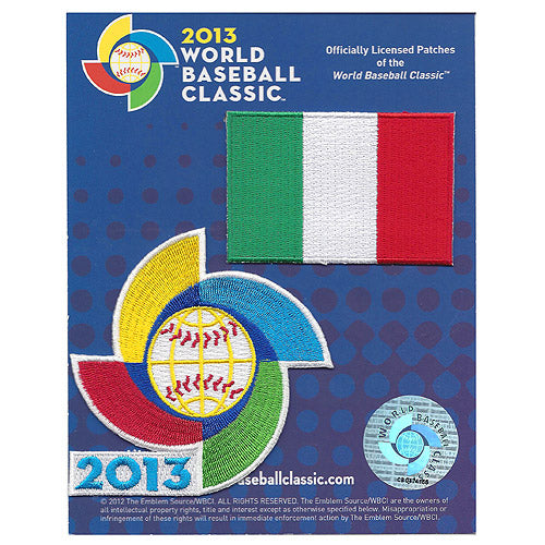 Italy 2013 World Baseball Classic Patch Pack