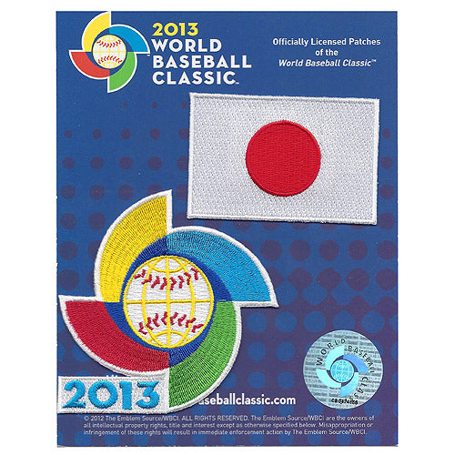 Japan 2013 World Baseball Classic Patch Pack