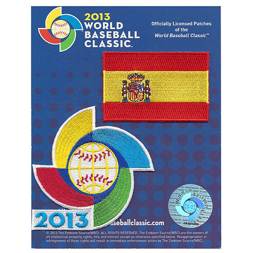 Spain 2013 World Baseball Classic Patch Pack