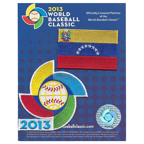 Venezuela 2013 World Baseball Classic Patch Pack