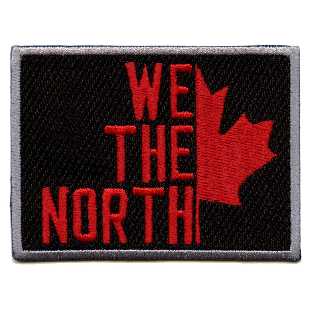 We The North Toronto Canada With Maple Leaf Pride Iron On Patch