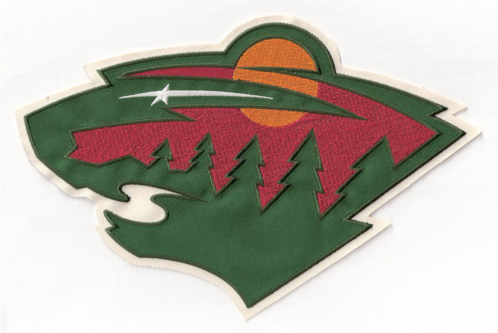 Minnesota Wild Head Large Front Jersey Logo Patch