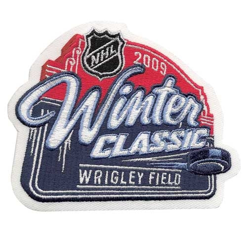 2009 NHL Winter Classic Game Logo Patch (Chicago Blackhawks vs. Detroit Red Wings)