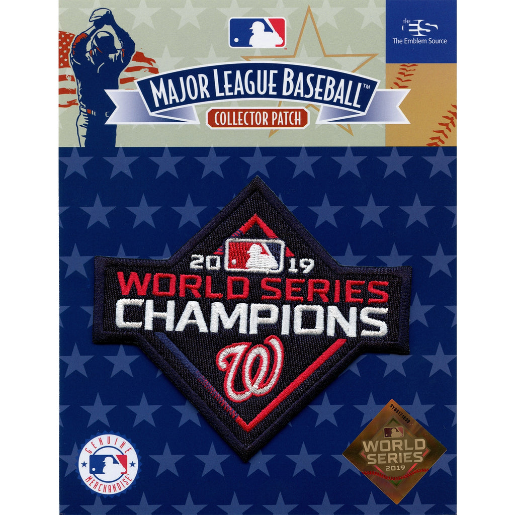Washington Nationals 2019 World Series Champions Bumper Sticker Decal Baseball