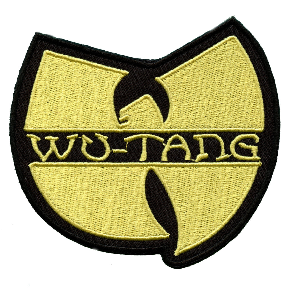 Wu-Tang Clan Logo Iron On Patch