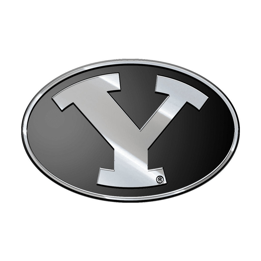 Brigham Young Cougars (BYU) Premium Solid Metal Chrome Plated Car Auto Emblem