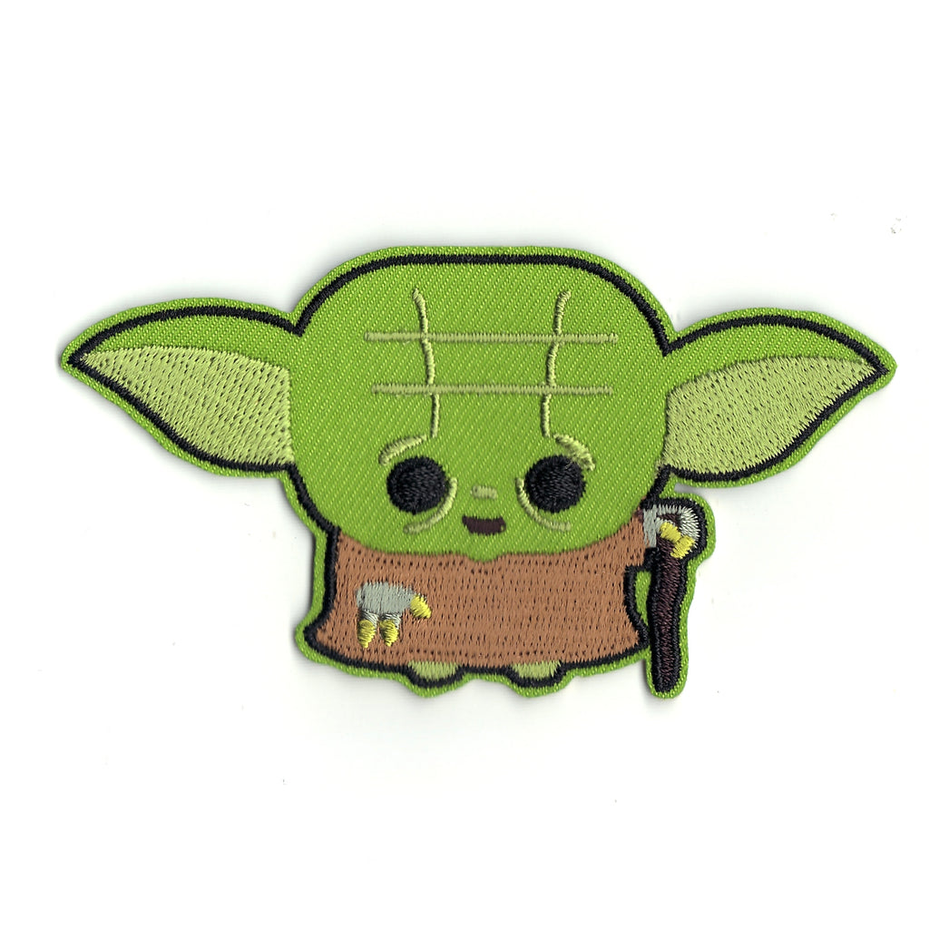 Star Wars Baby Yoda Emoji Logo Iron on Patch