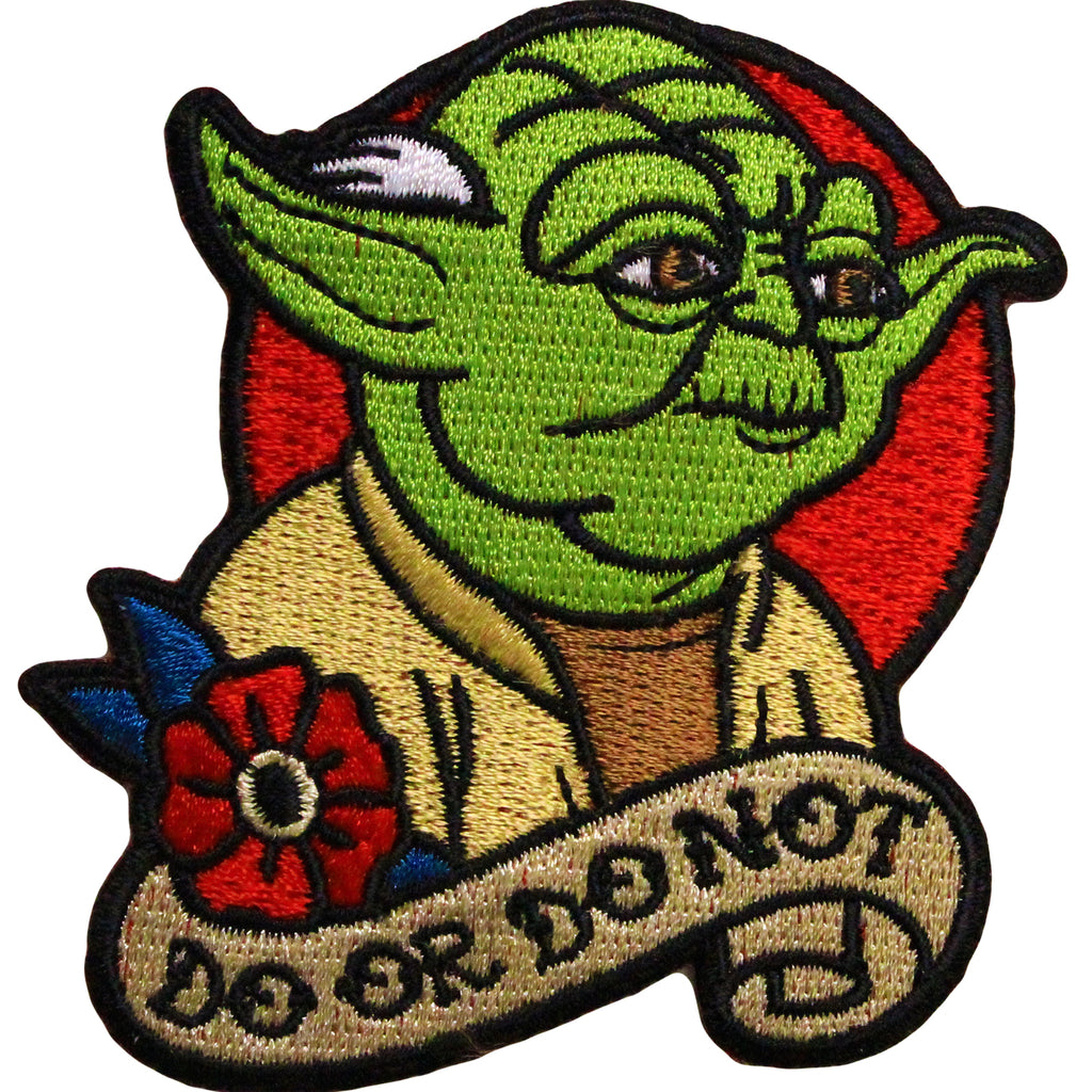 Star Wars Official Yoda 'Do or Do Not' Iron On Patch