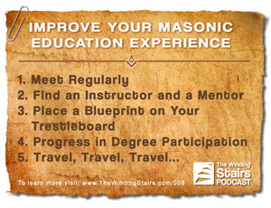 TWS 008 Improving your Masonic Education Experience