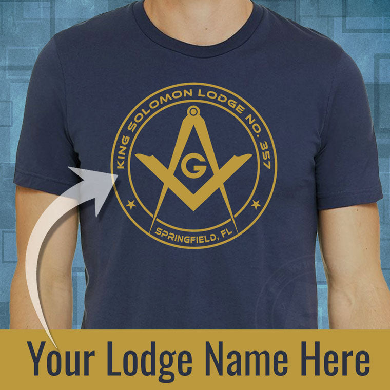 Custom Lodge Shirt™ Sample + Setup Fee