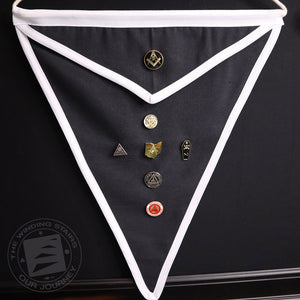 Knights Templar Pin Display Apron