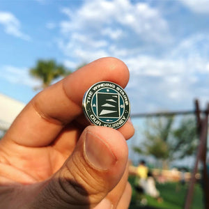 The Winding Stairs Official Pin