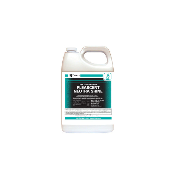 SSS Pleascent Neutra Shine DisinfectantCleaner, 1 Gal