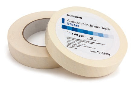 Steam Indicator Tape McKesson 1 Inch X 60 Yard Steam
