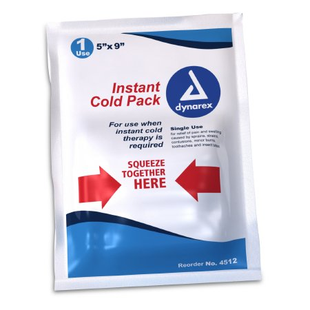 Instant Cold Pack General Purpose 5 X 9 Inch Disposable