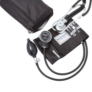 Aneroid Sphygmomanometer Combo Kit Pocket Style Hand Held Size 11 Nylon Cuff 22 Inch Stethoscope Tube Sprague Rappaport Stethoscope