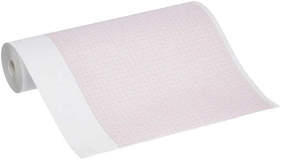 ECG / EEG Recording Paper Thermal 210 mm X 30 Meter Roll Red Grid
