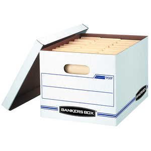 Bankers Box STOR/File Storage Boxes, Letter/Legal, Value Pack of 30
