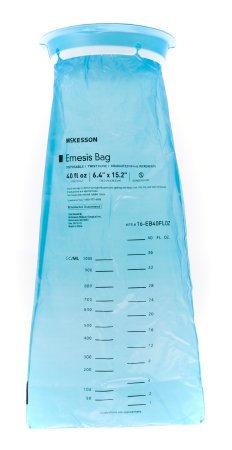 Emesis Bag McKesson 40 oz. Blue