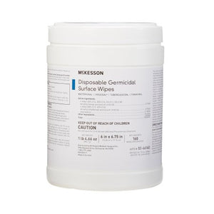 McKesson Disposable Germicidal Surface Wipes 160