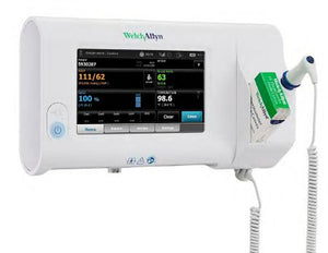 Patient Monitor Connex® Spot Vitals NIBP, Pulse Rate, Pulse Oximetry, Temperature Battery Operated