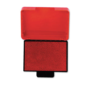 Trodat T5430 Stamp Replacement Ink Pad, 1 x 1 5/8, Red