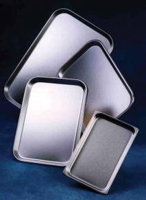 Stainless Steel Oblong Instrument Trays