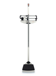 Column Scale with Height Rod Seca® Balance Beam Display 500 lbs. White Analog-Each